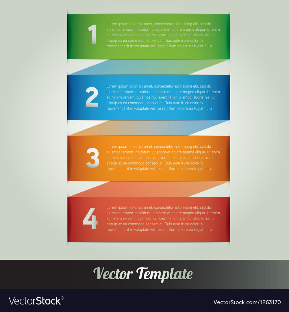 Banner design template eps10 vector | Price: 1 Credit (USD $1)
