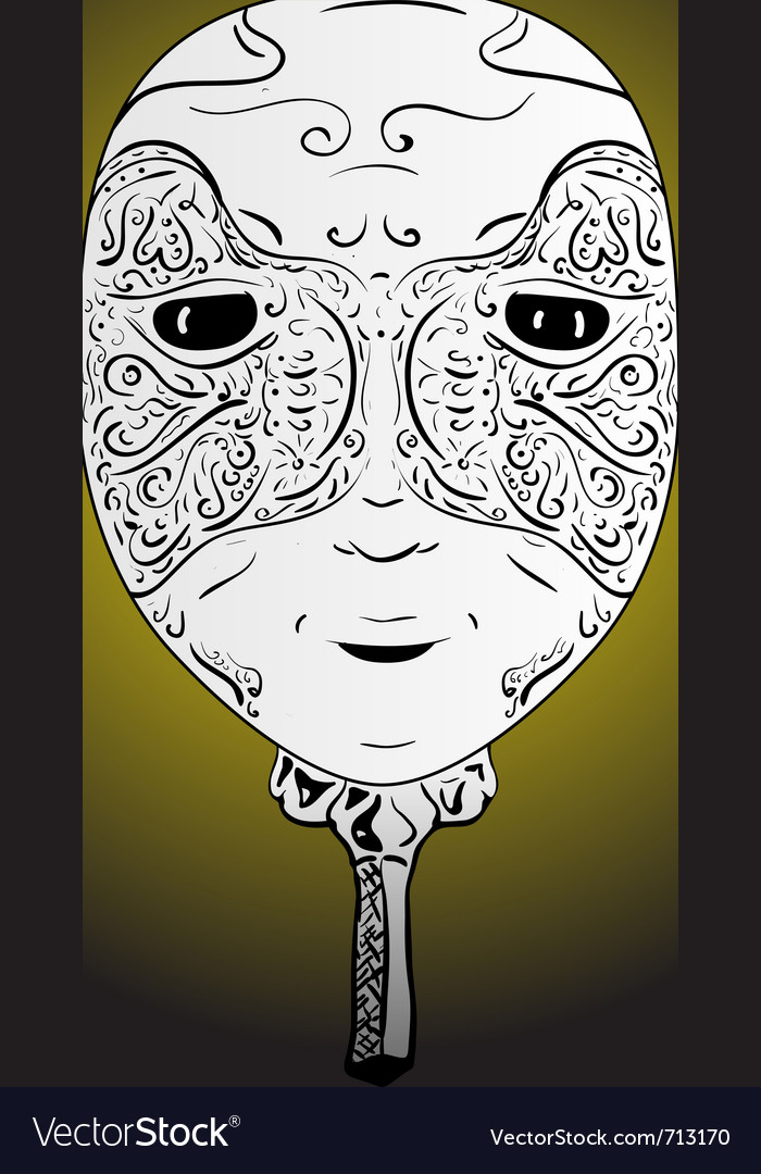 Face mask vector | Price: 1 Credit (USD $1)