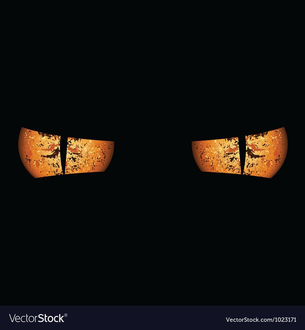 Devil eyes vector | Price: 1 Credit (USD $1)