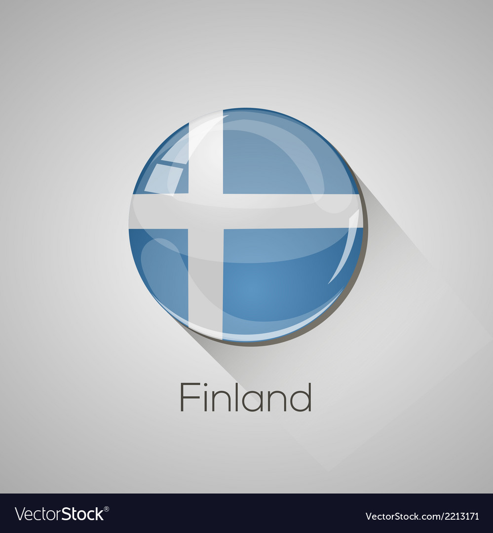 European flags set - finland vector | Price: 1 Credit (USD $1)