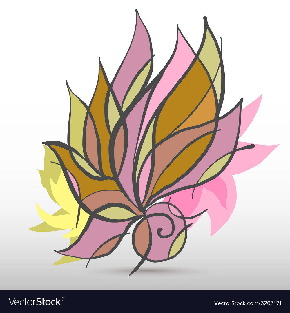 Flowerart vector | Price: 1 Credit (USD $1)