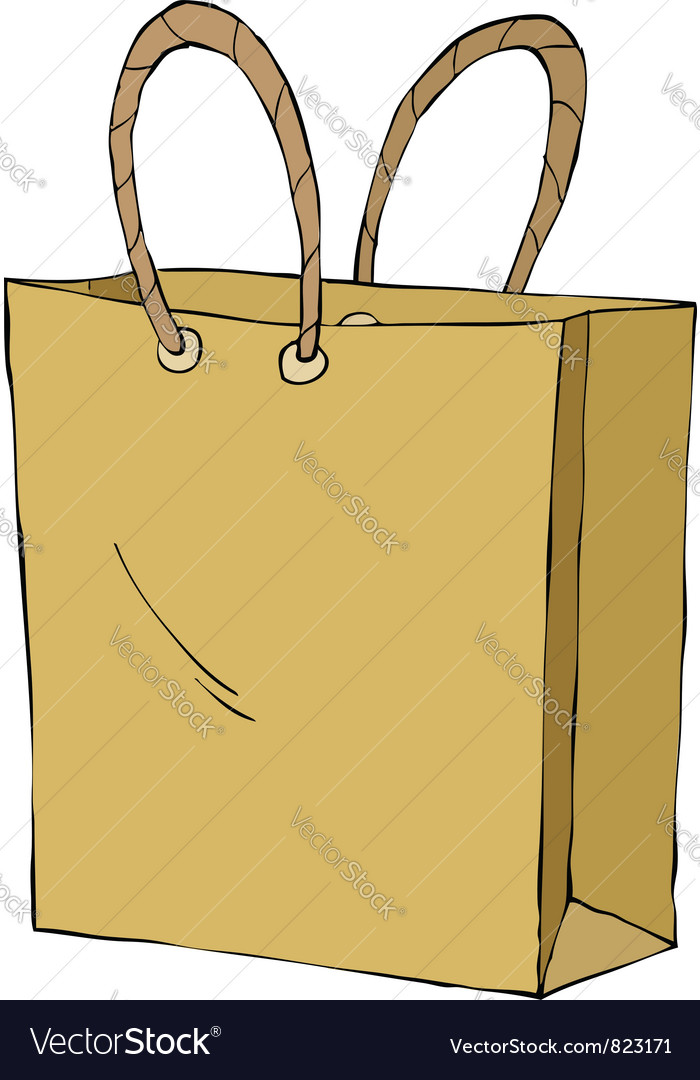 Paper bag vector | Price: 3 Credit (USD $3)
