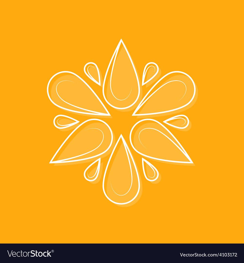 Elegant logotype line design element for logo fl vector | Price: 1 Credit (USD $1)