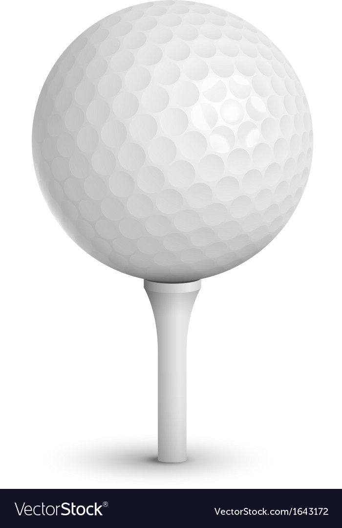Golf ball vector | Price: 3 Credit (USD $3)