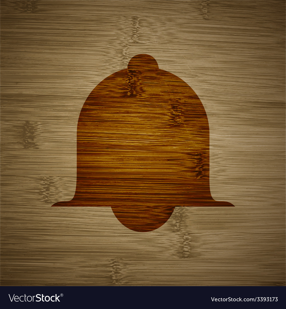Alarm bell icon symbol flat modern web design with vector   Price: 1 Credit (USD $1)