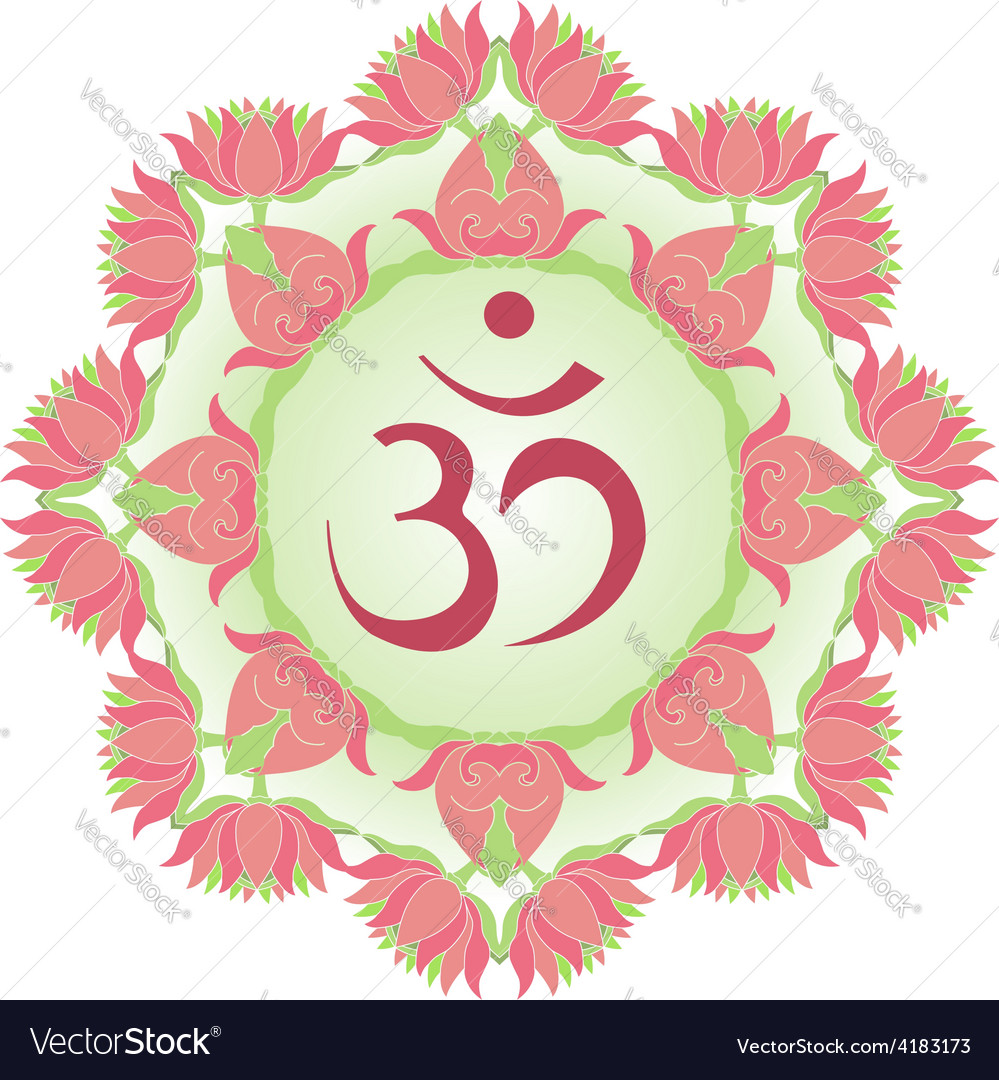 Symbol om vector | Price: 1 Credit (USD $1)