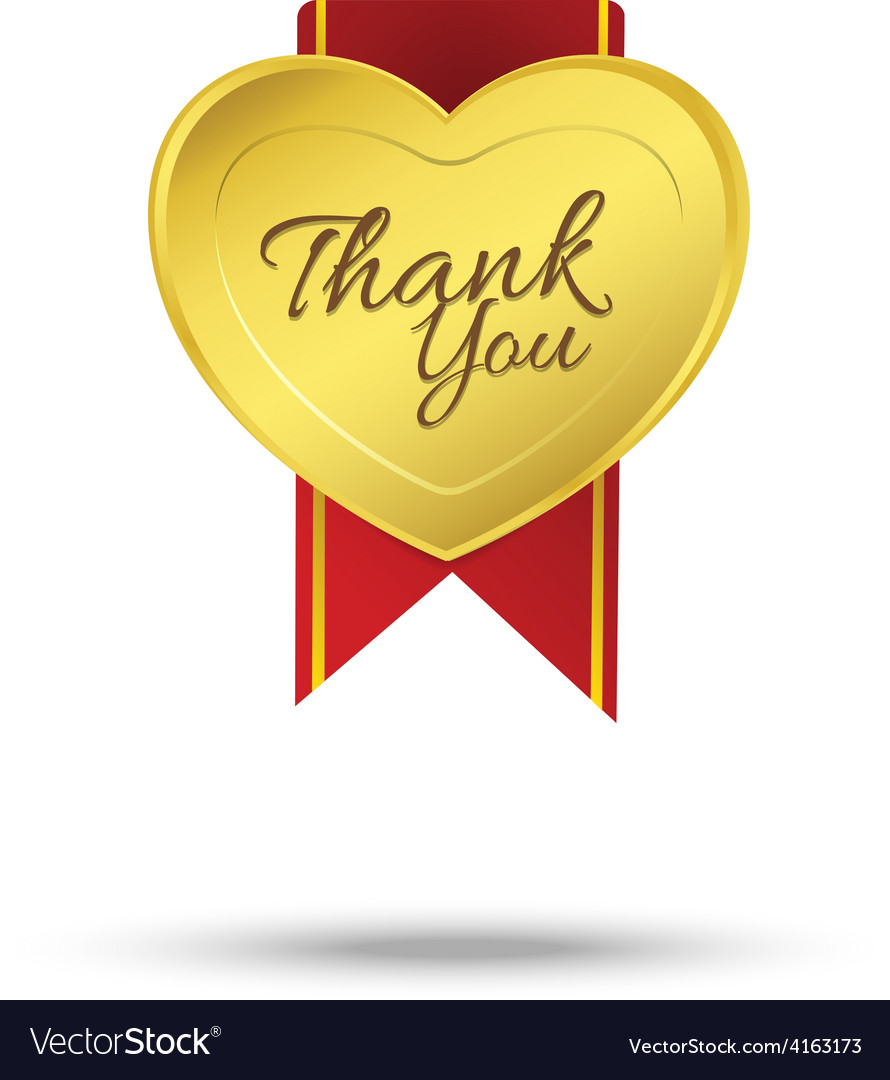 Thank you on banner sign message symbol isolated vector   Price: 1 Credit (USD $1)