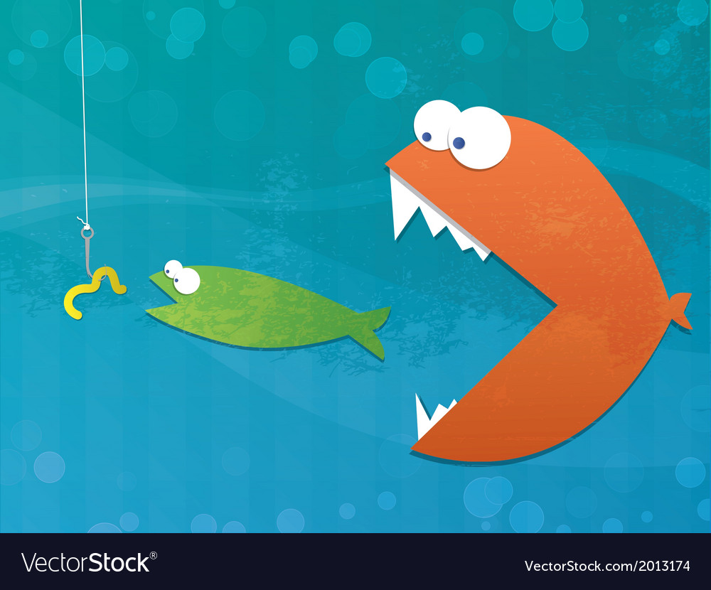 Food chain vector | Price: 1 Credit (USD $1)