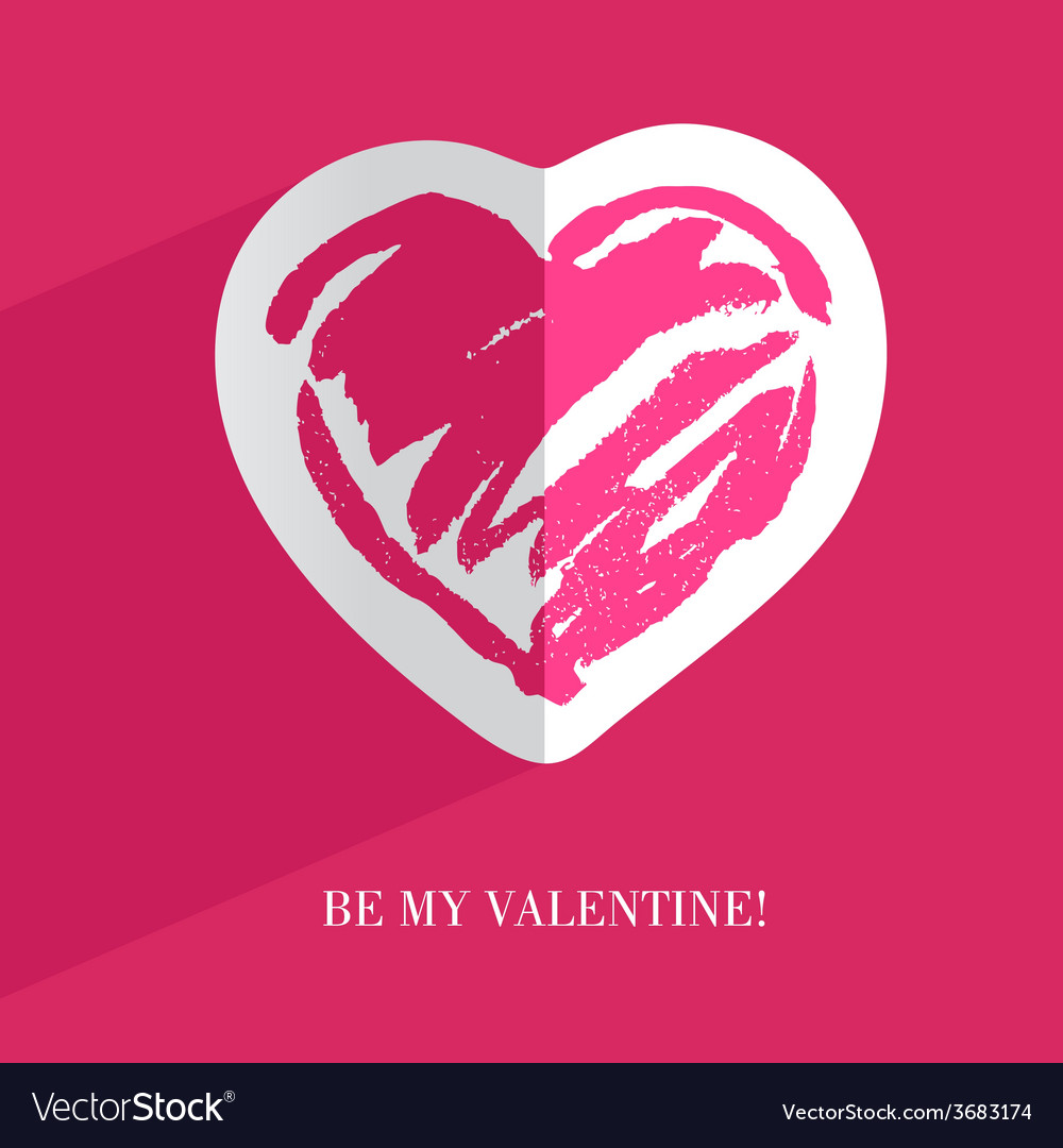 Heart card4 vector | Price: 1 Credit (USD $1)