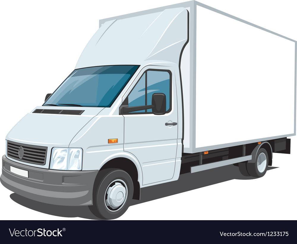 Delivery van vector   Price: 5 Credit (USD $5)