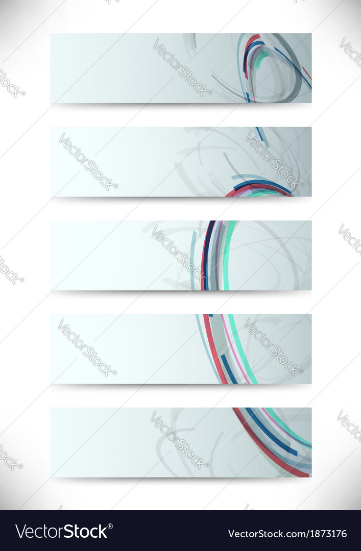 Cards with web patterns - business vector | Price: 1 Credit (USD $1)
