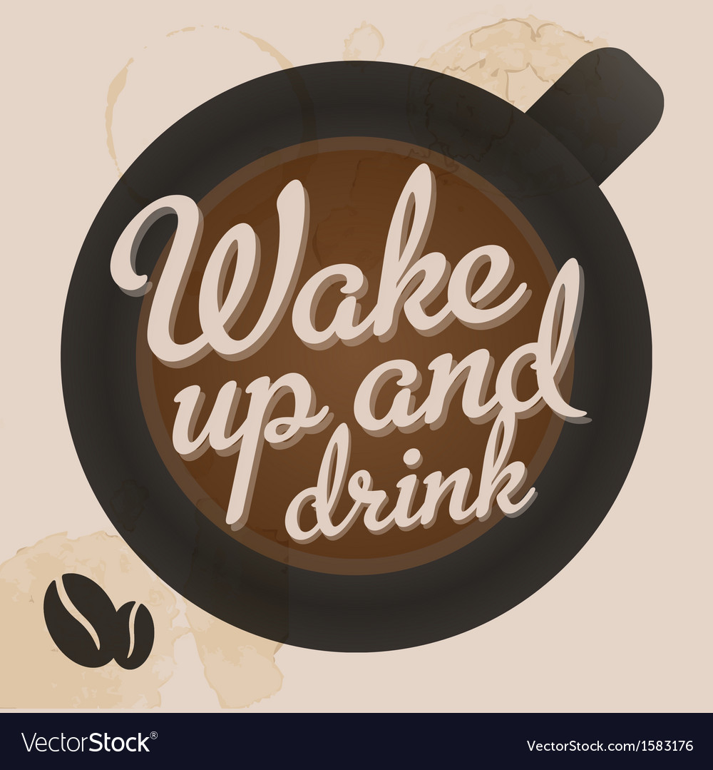 Retro vintage coffee tin sign with grunge effect vector | Price: 1 Credit (USD $1)