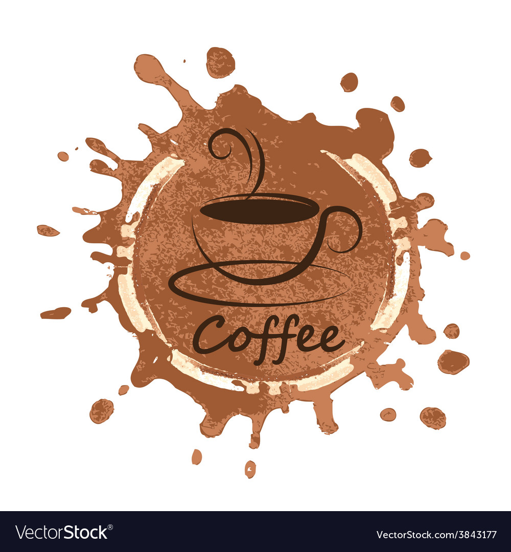 Coffee design over background vector | Price: 1 Credit (USD $1)