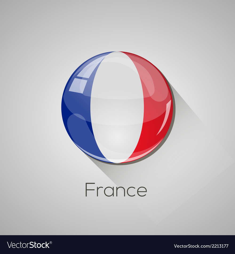 European flags set - france vector | Price: 1 Credit (USD $1)