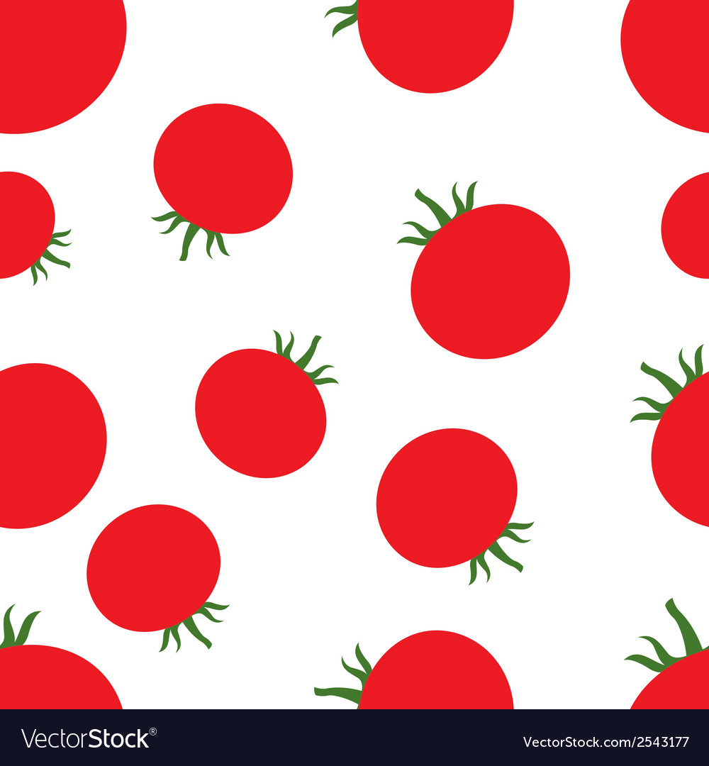 Pattern silhouette tomato vector   Price: 1 Credit (USD $1)