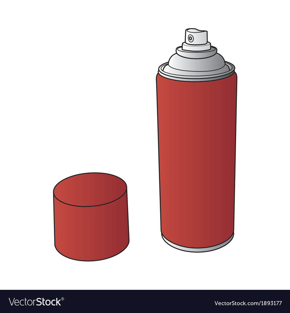 Spray paint can vector | Price: 1 Credit (USD $1)