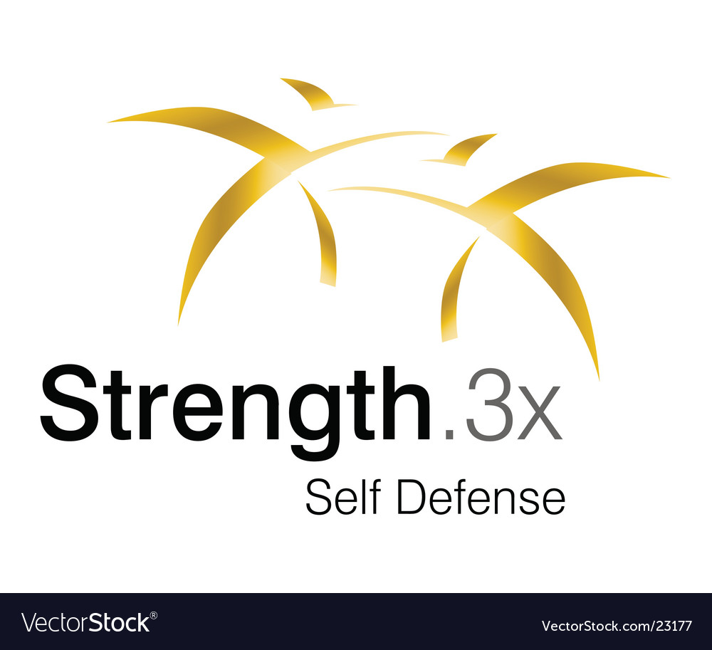 Strength logo vector | Price: 1 Credit (USD $1)