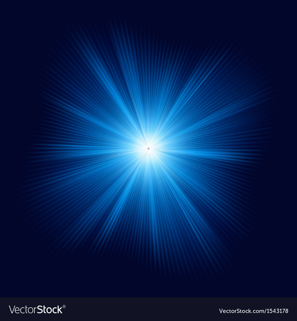 Blue color design with burst eps 10 vector | Price: 1 Credit (USD $1)