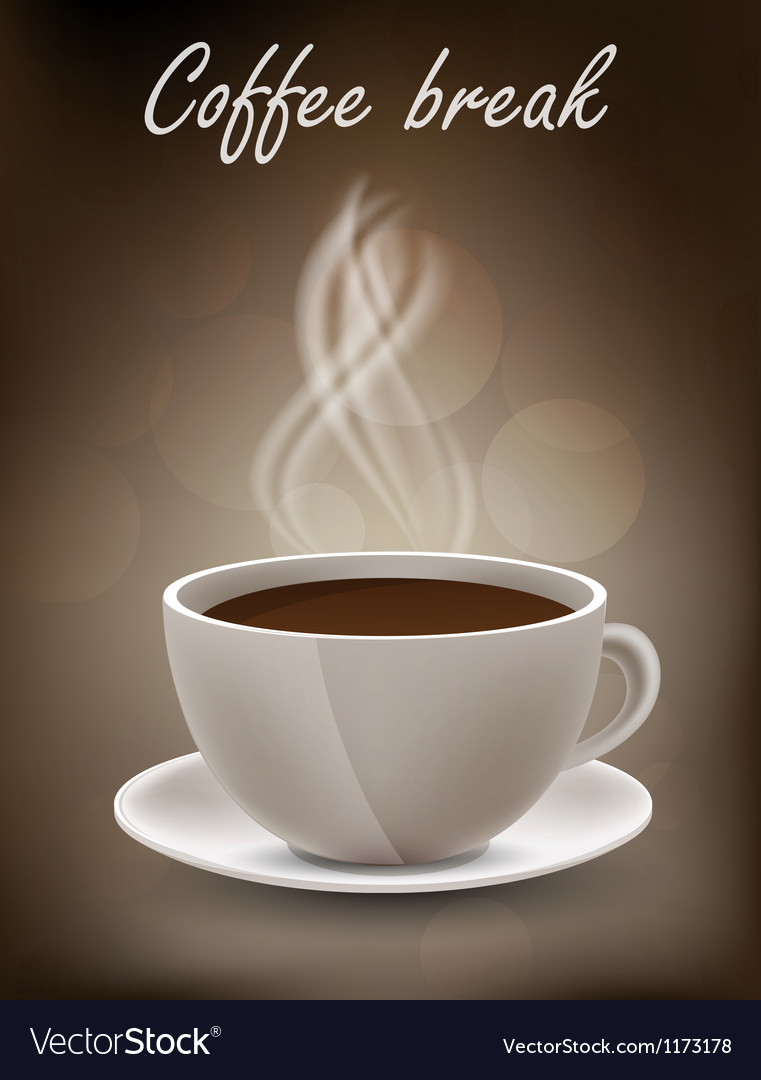 Coffe background vector | Price: 1 Credit (USD $1)