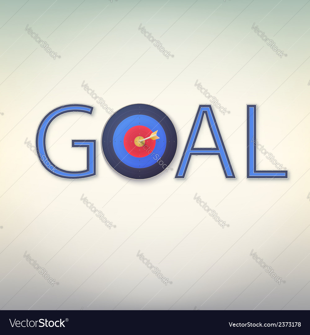 Goal icon vector | Price: 1 Credit (USD $1)