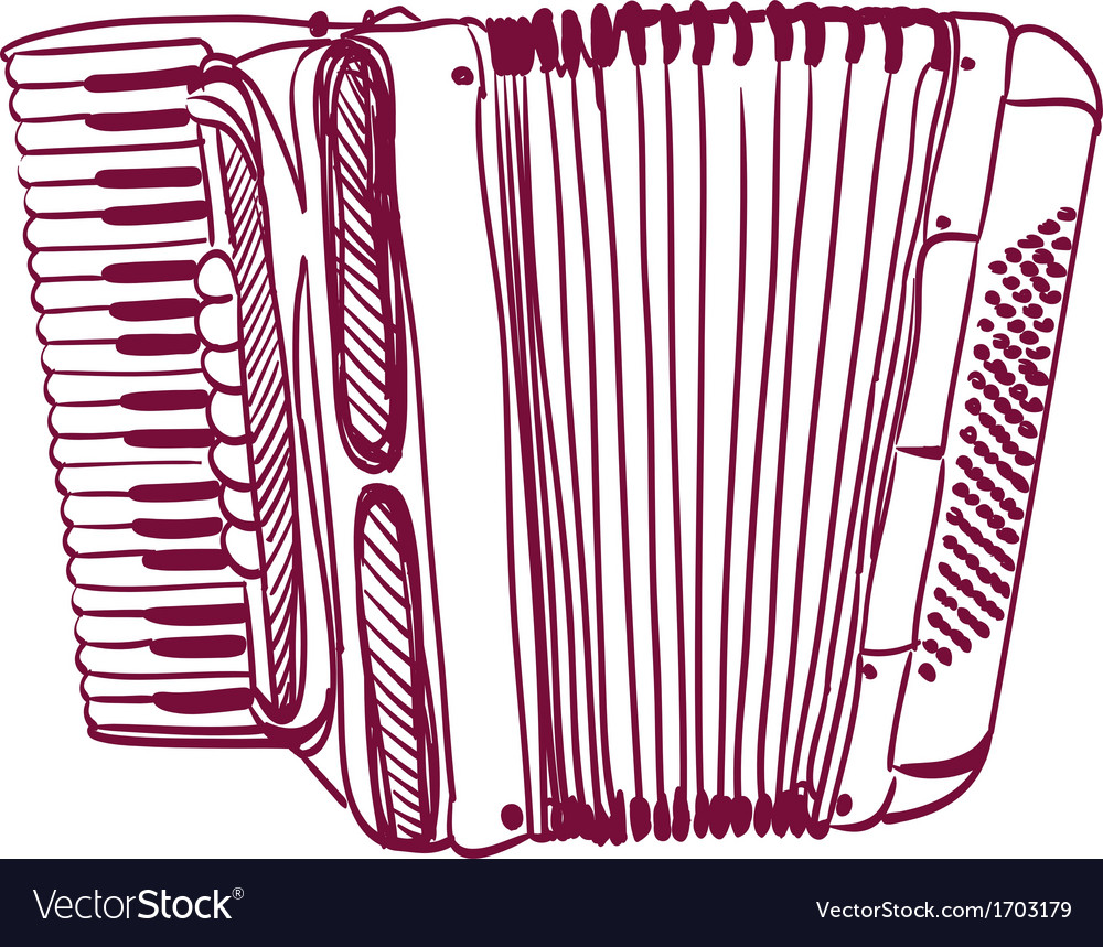 Accordion vector | Price: 1 Credit (USD $1)