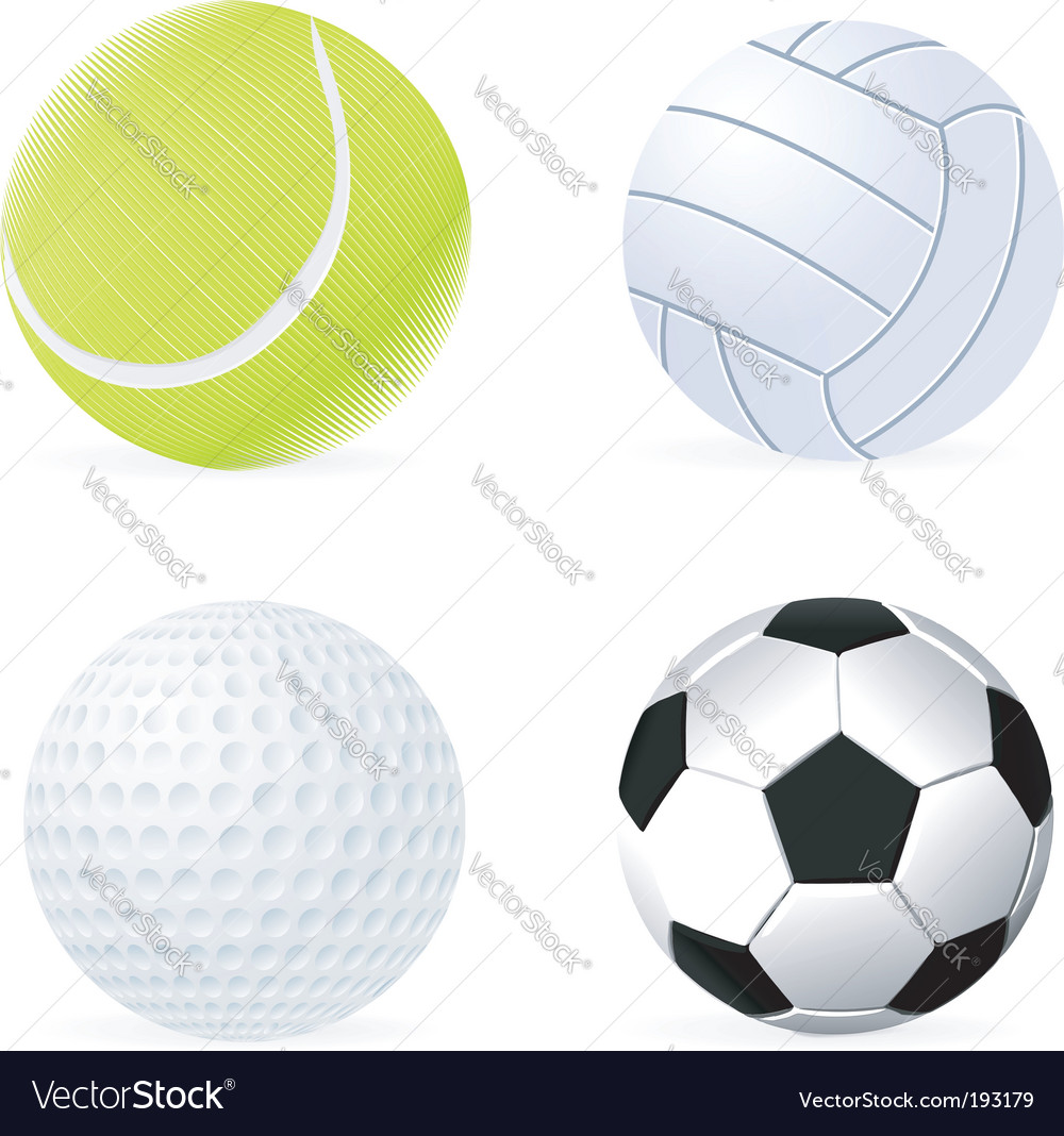Ball set vector | Price: 1 Credit (USD $1)