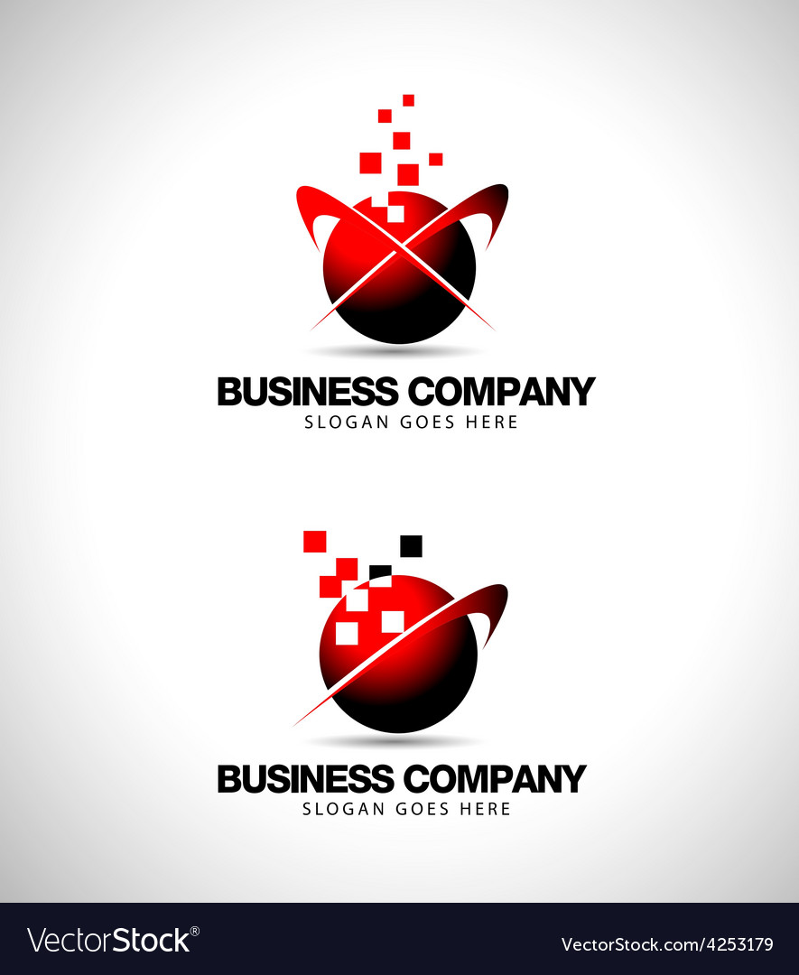 Business company logo vector | Price: 1 Credit (USD $1)