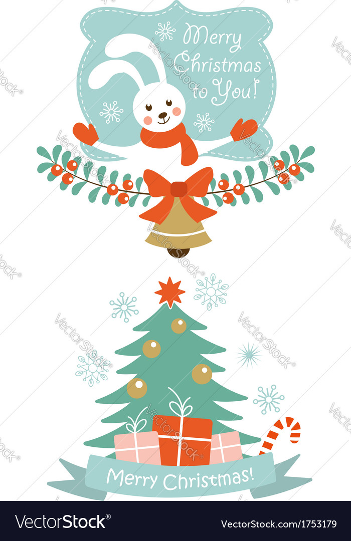 Christmas design elements vector | Price:  Credit (USD $)