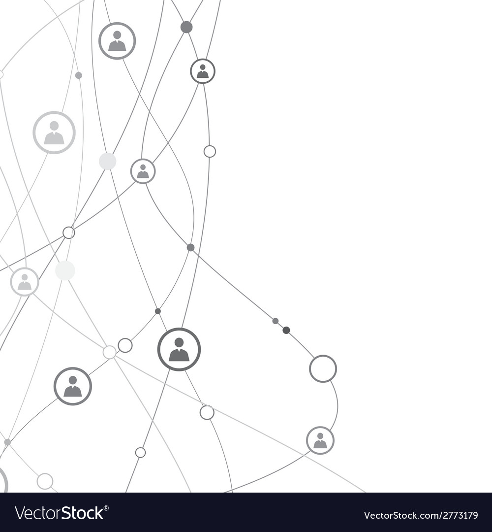 Human connections vector | Price: 1 Credit (USD $1)