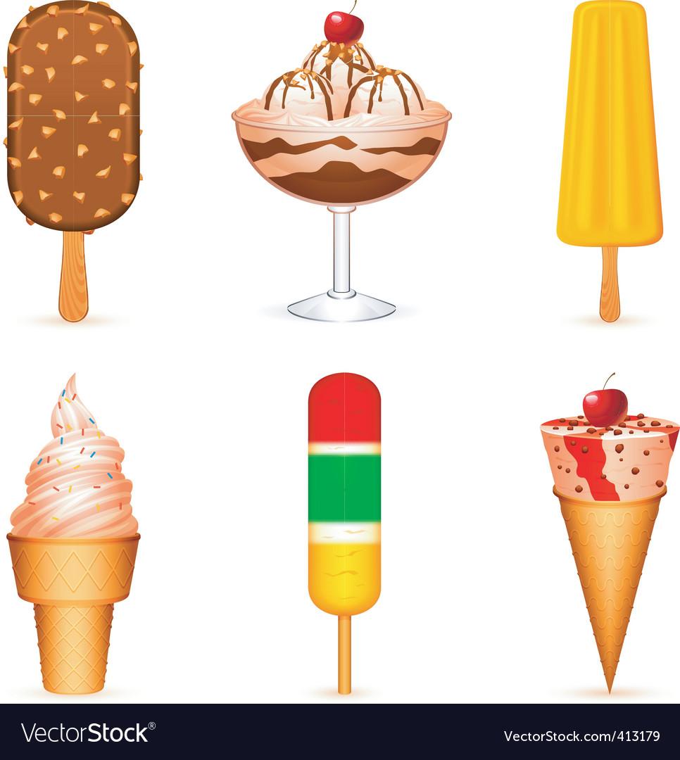 Ice cream vector | Price: 1 Credit (USD $1)