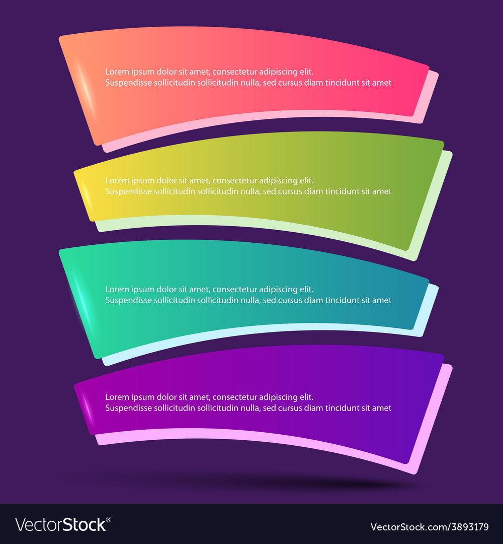 Infographics form options workflow purple vector | Price: 1 Credit (USD $1)