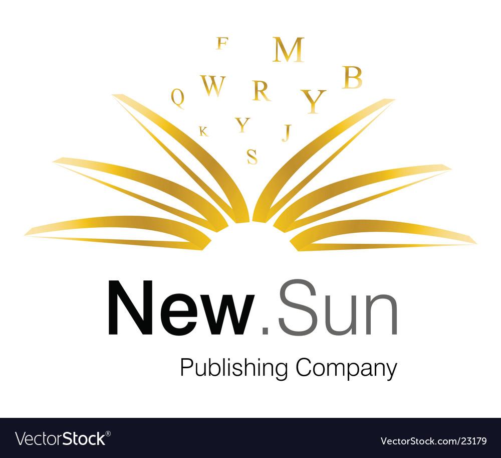 Sun logo vector | Price: 1 Credit (USD $1)