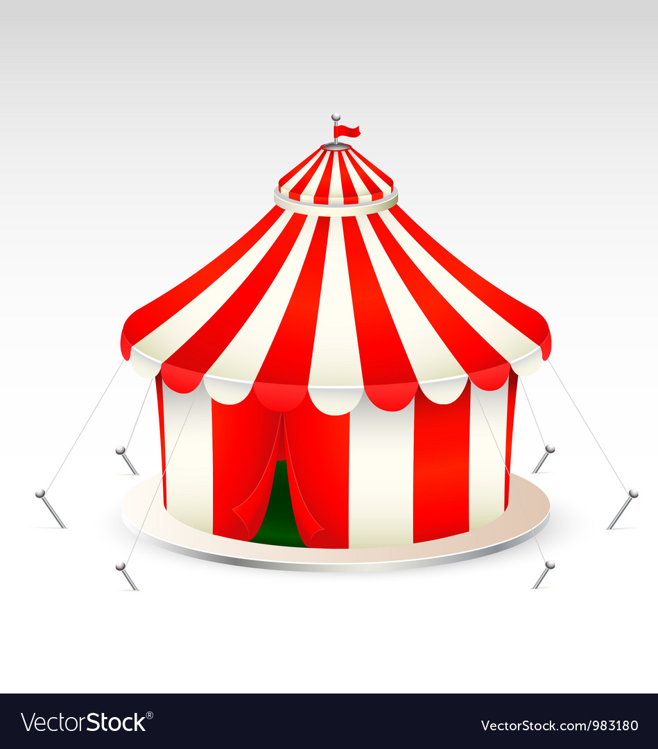 Circus tent icon vector | Price: 3 Credit (USD $3)
