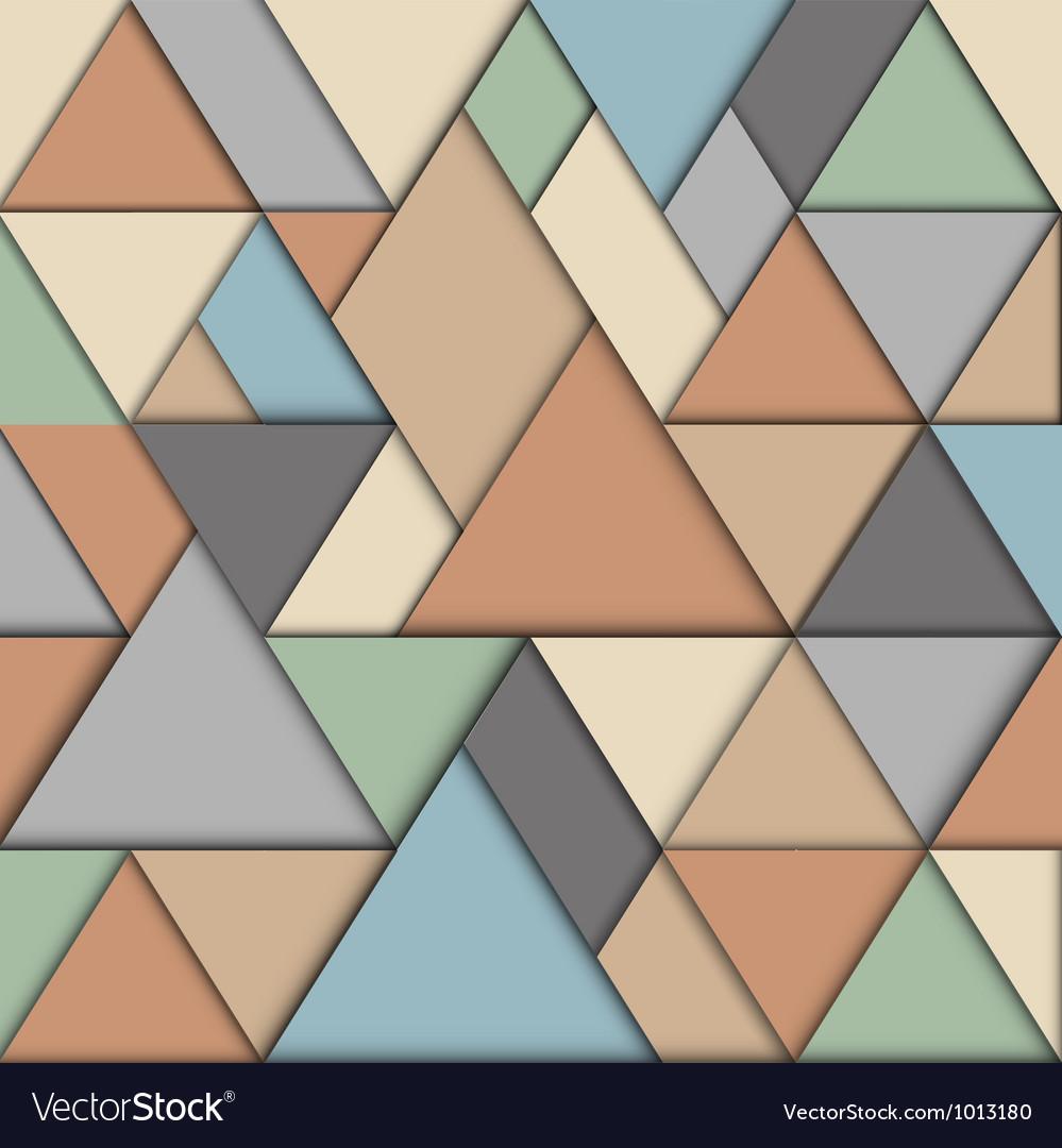 Retro origami background vector | Price: 1 Credit (USD $1)