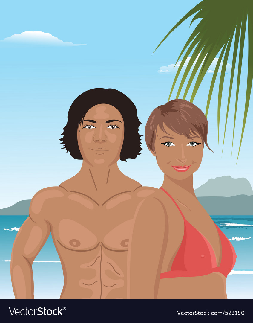 Sexy couple vector | Price: 3 Credit (USD $3)