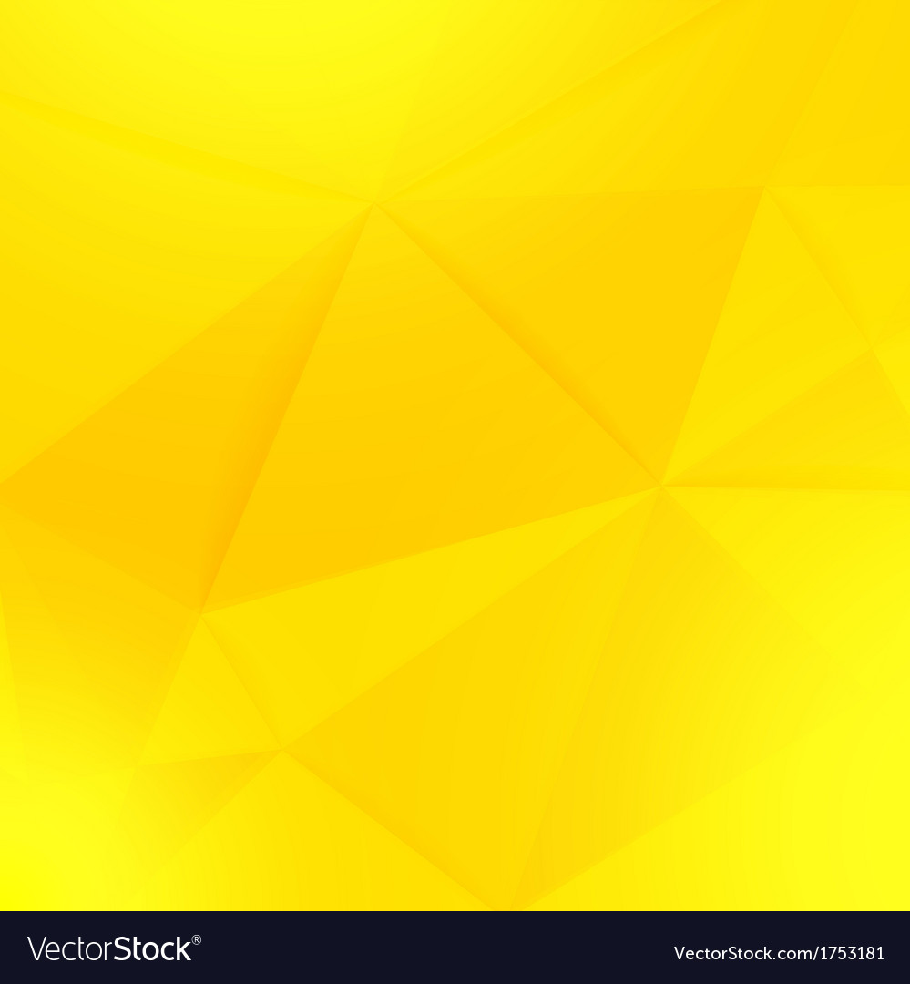 Abstract yellow geometric paper background vector | Price: 1 Credit (USD $1)
