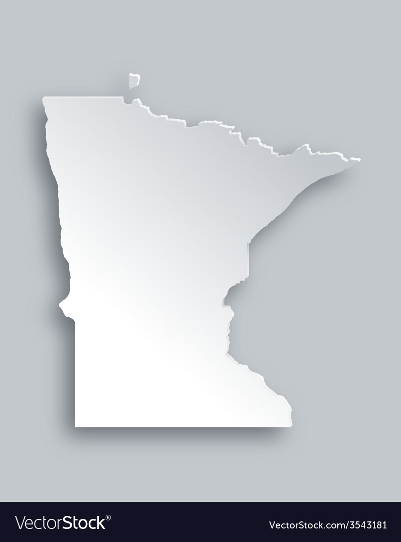 Map of minnesota vector | Price: 1 Credit (USD $1)