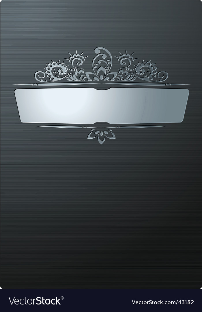 Brushed steel background vector | Price: 1 Credit (USD $1)
