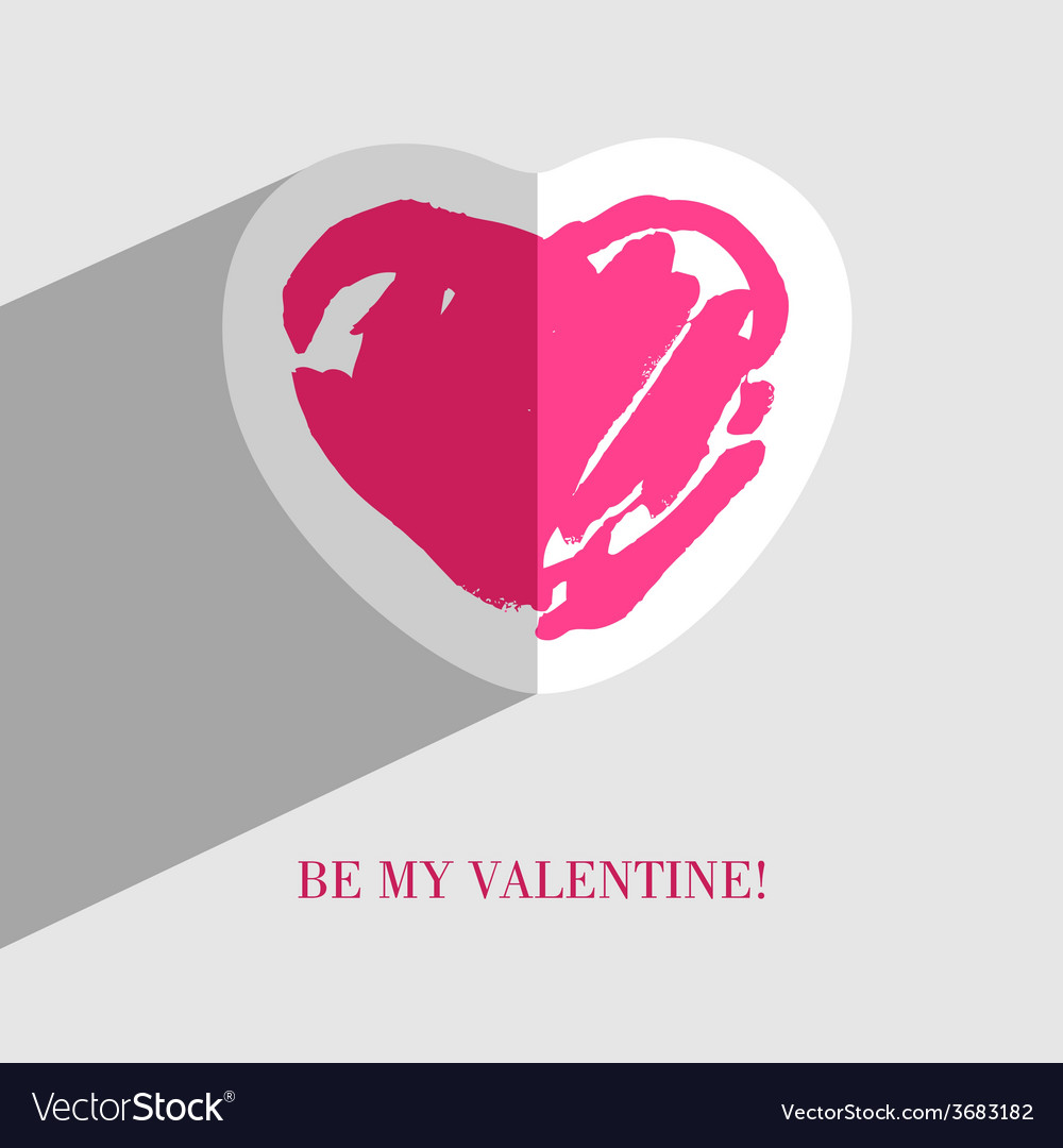 Heart card5 vector | Price: 1 Credit (USD $1)