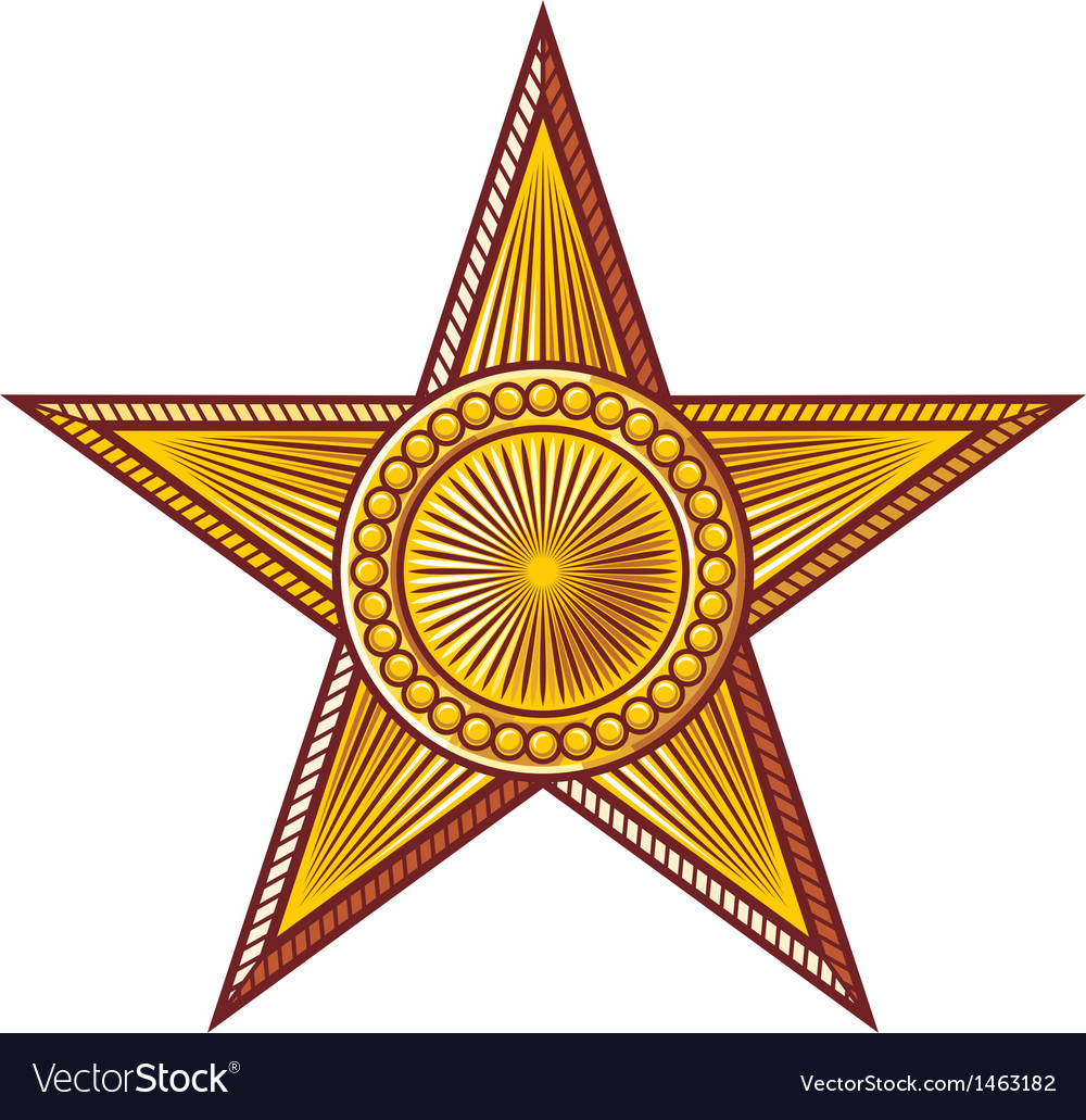 Star - medal vector | Price: 1 Credit (USD $1)