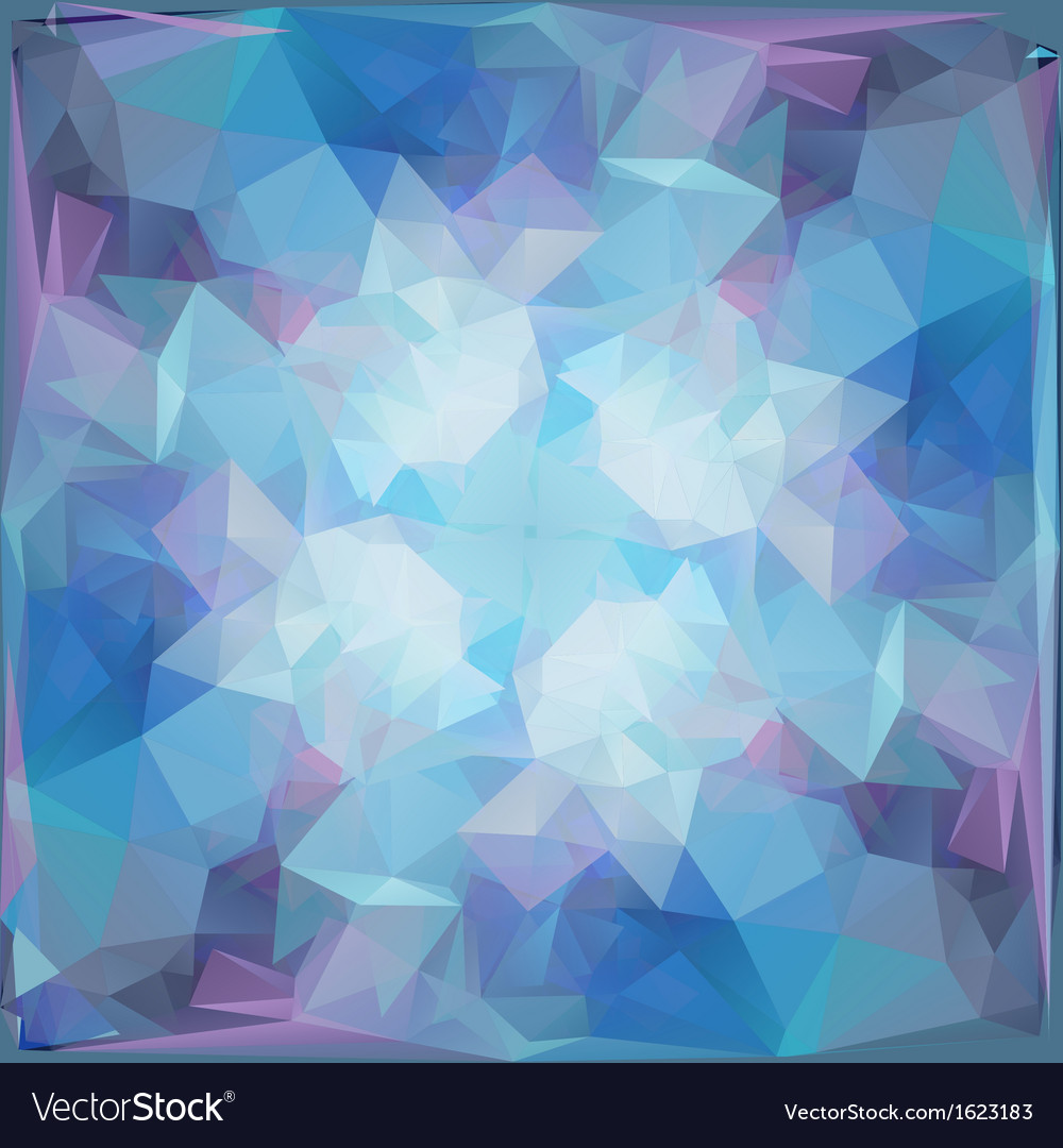 Abstract geometric background with triangular poly vector | Price: 1 Credit (USD $1)