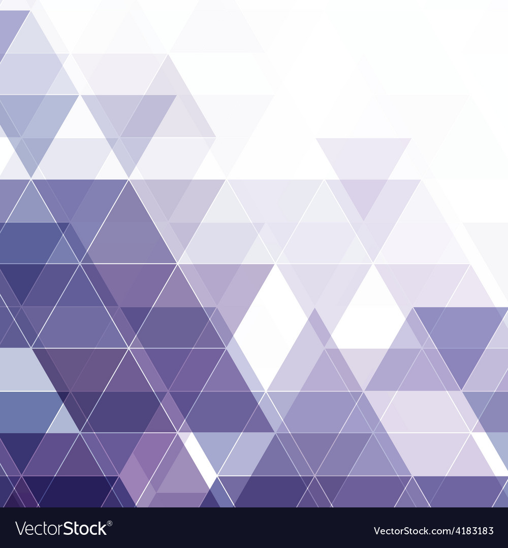 Abstract triangular background vector | Price: 1 Credit (USD $1)