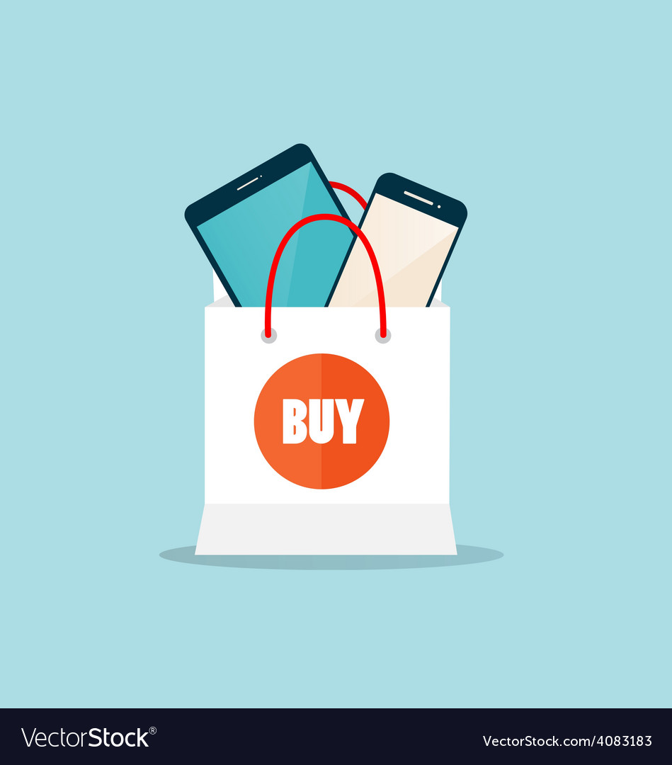 Business concept online shopping infographics vector   Price: 1 Credit (USD $1)