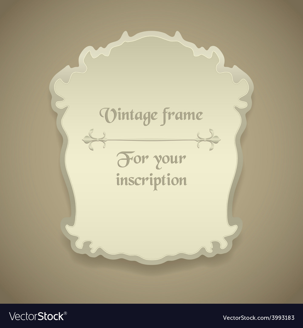 Vintage frames vector   Price: 1 Credit (USD $1)