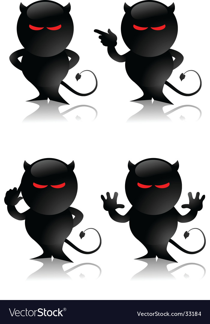 Devil toy vector | Price: 1 Credit (USD $1)