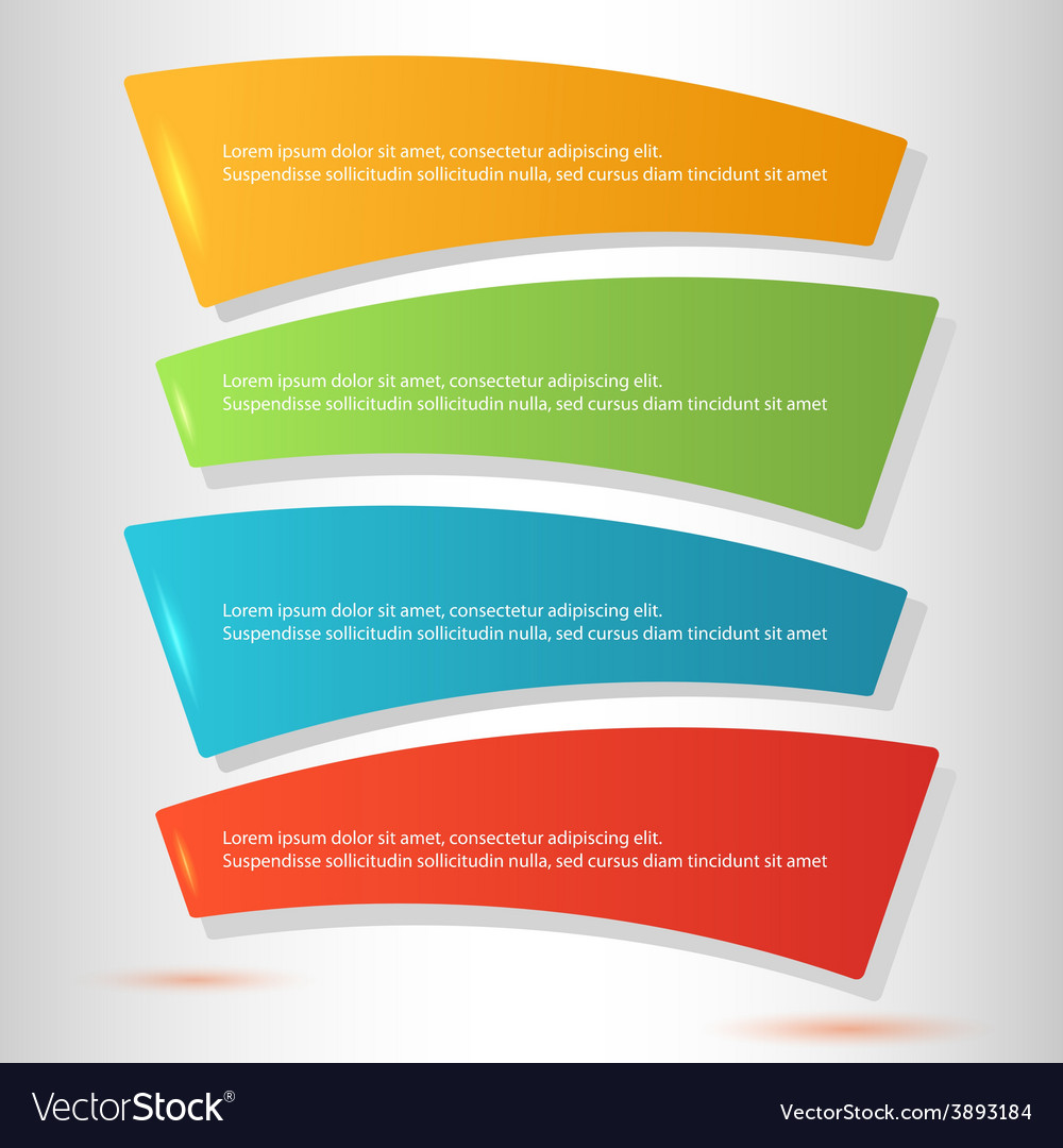 Infographics form steps workflow options vector | Price: 1 Credit (USD $1)