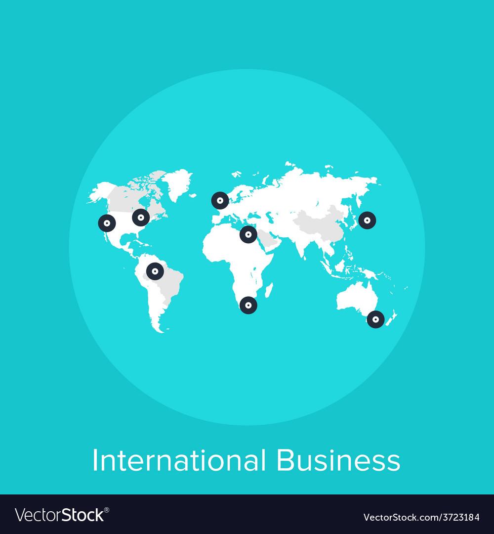 International business vector | Price: 1 Credit (USD $1)