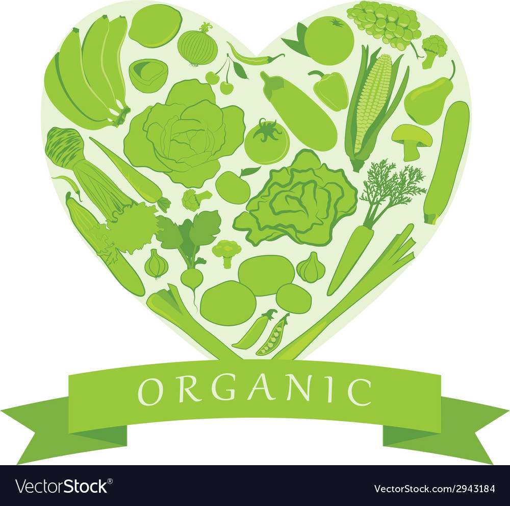 Organic groceries vector | Price: 1 Credit (USD $1)