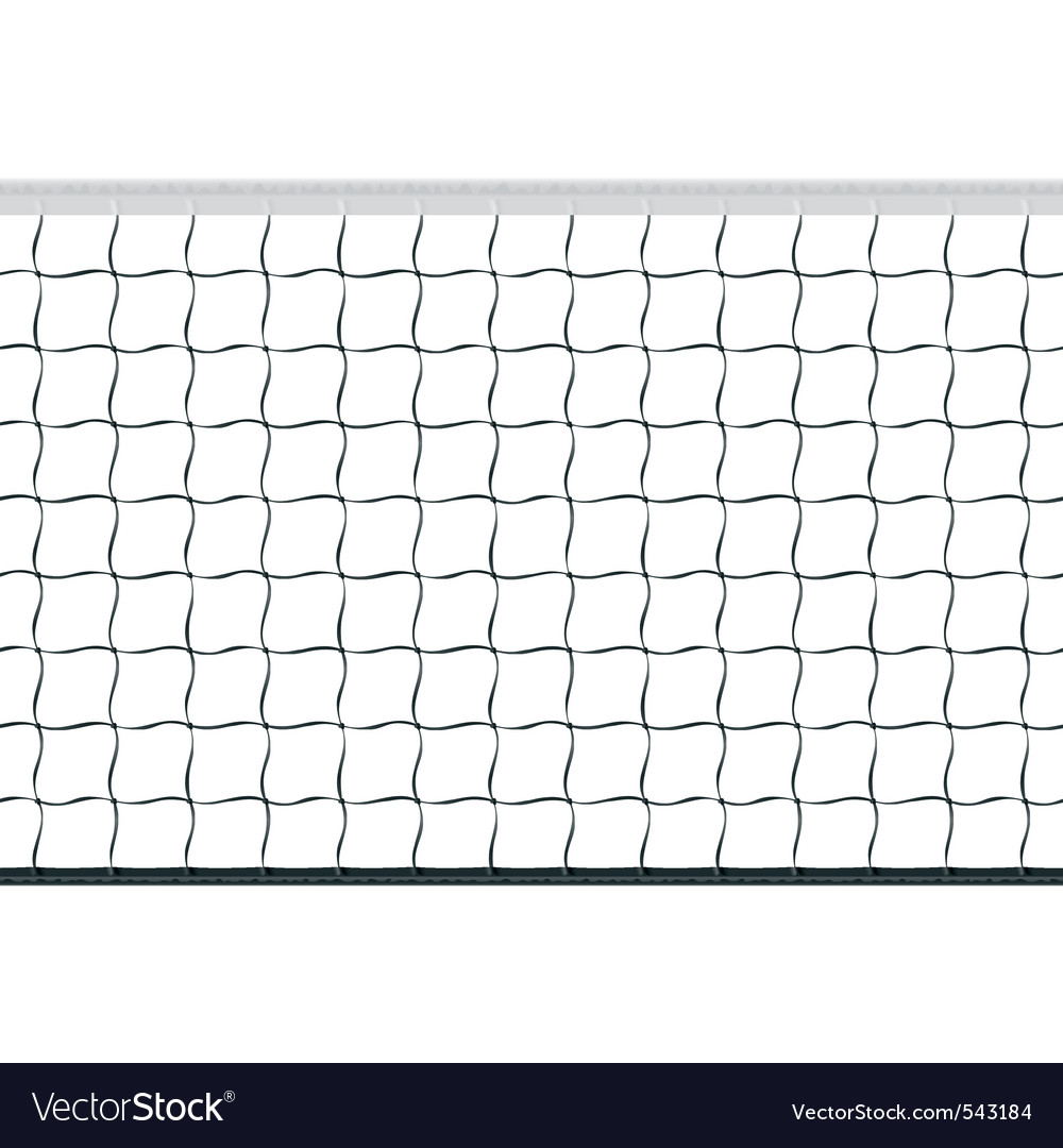 Seamless volleyball net vector | Price: 1 Credit (USD $1)