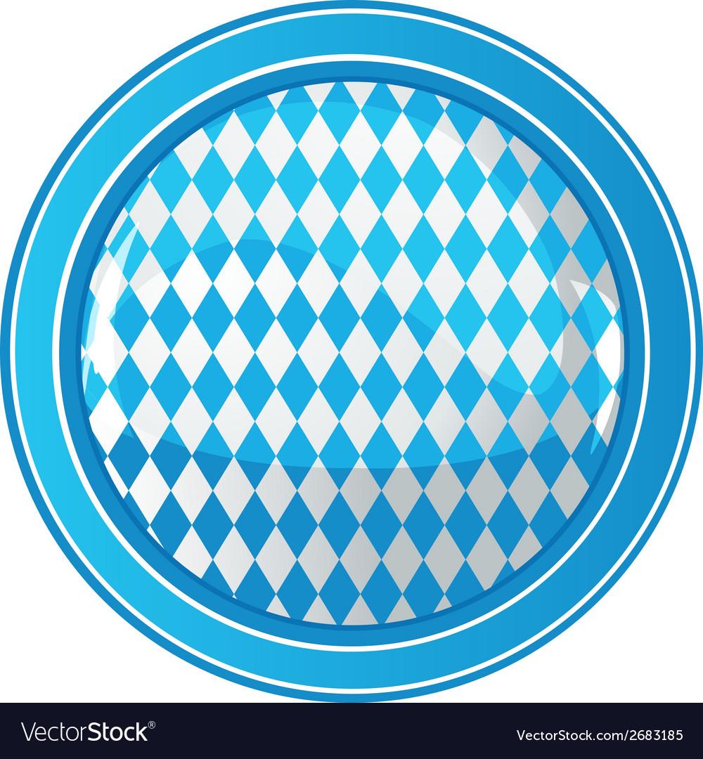 Oktoberfest circle background vector | Price: 1 Credit (USD $1)